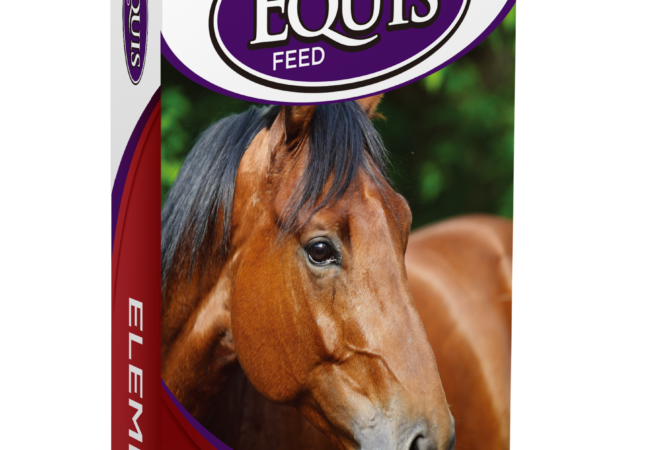 horse feed packaging redesign