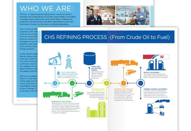 brochure infographic design